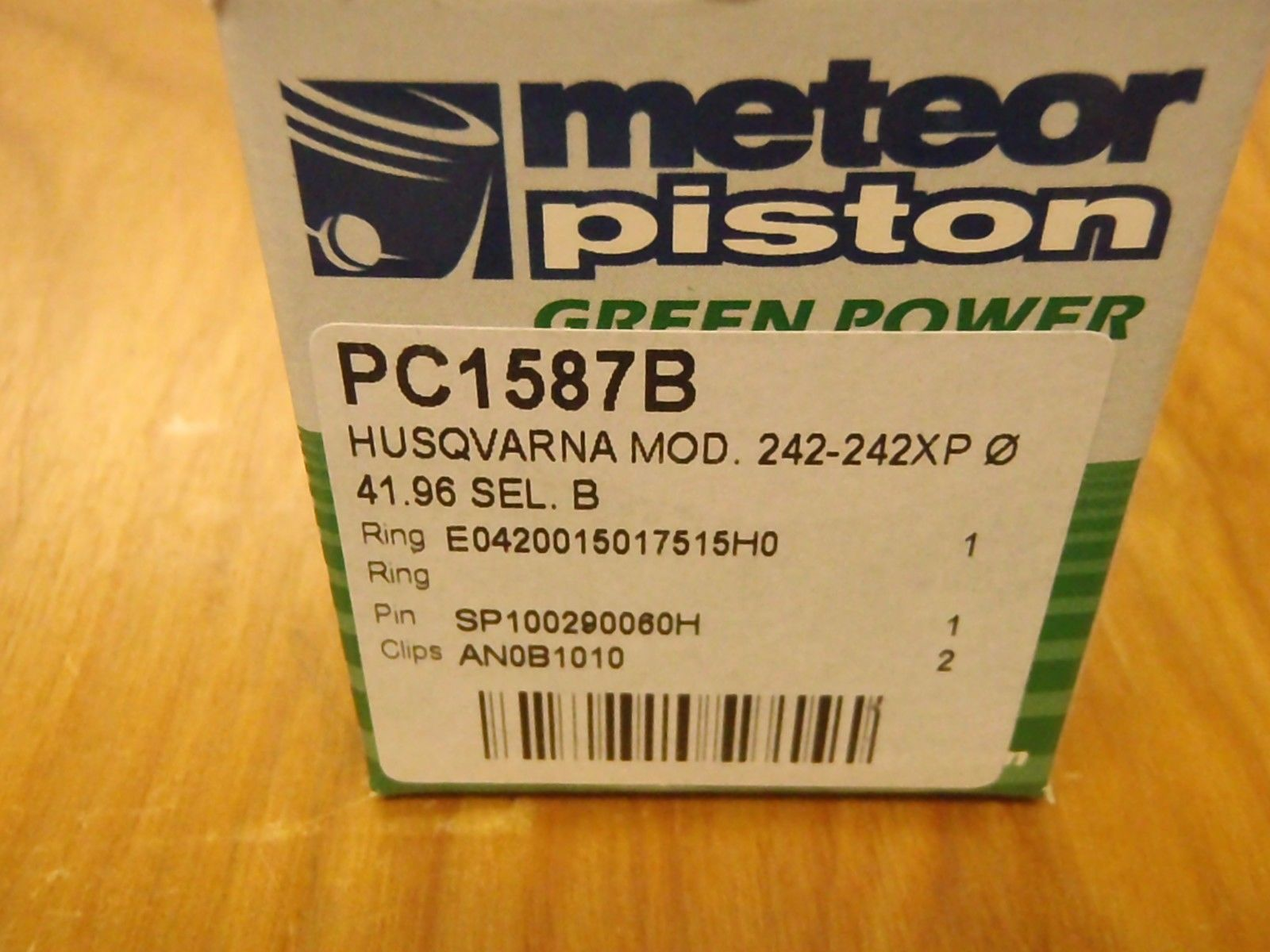 Meteor Piston kit for Husqvarna 42 242 242XP chainsaw New Caber ring 42mm